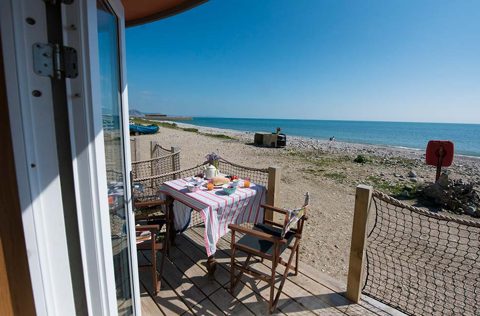 Spend New Year with uninterrupted sea views in Dorset.