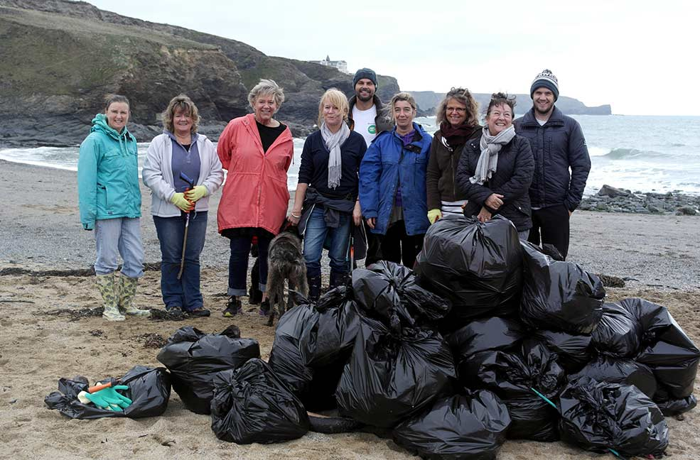At Classic Cottages we regularly organise company beach cleans as well as doing our two minute beach cleans whenever we can.