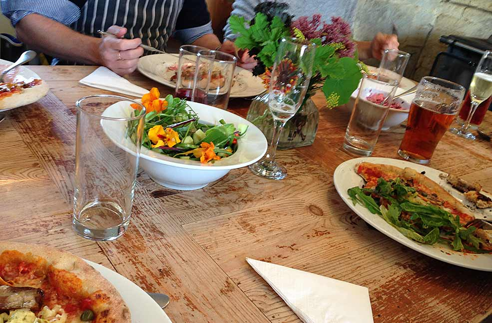 River Cottage dining