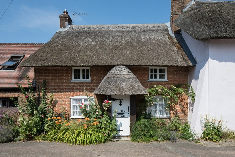 Beehive cottage is tucked away in the Dorset village of Puddletown.