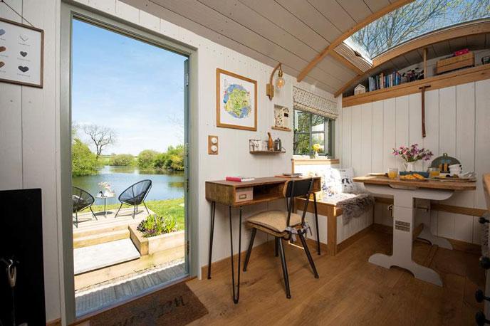 Hayleys Hut is a beautiful secluded Shepherd's Hut in the heart of Devon.