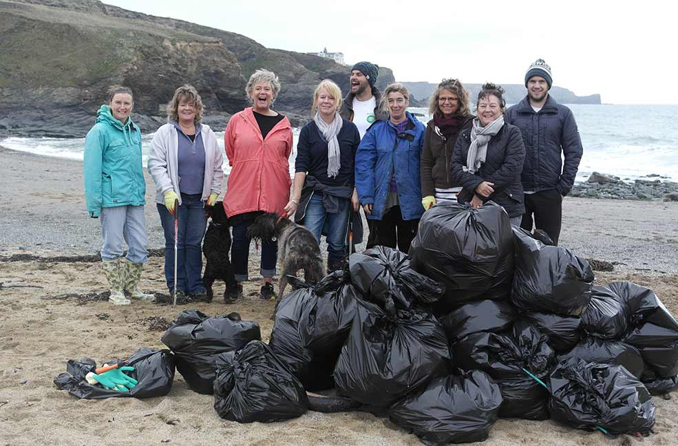Classic Cornish Beach Clean