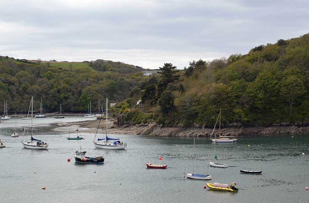 Reminiscent of Swallows and Amazons, Newton Ferrers and Noss Mayo are beautiful creekside villages in South Devon.