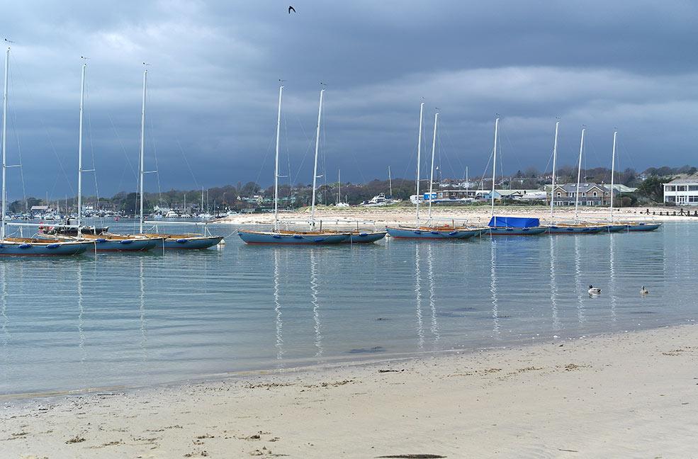 Dog friendly Bembridge harbour