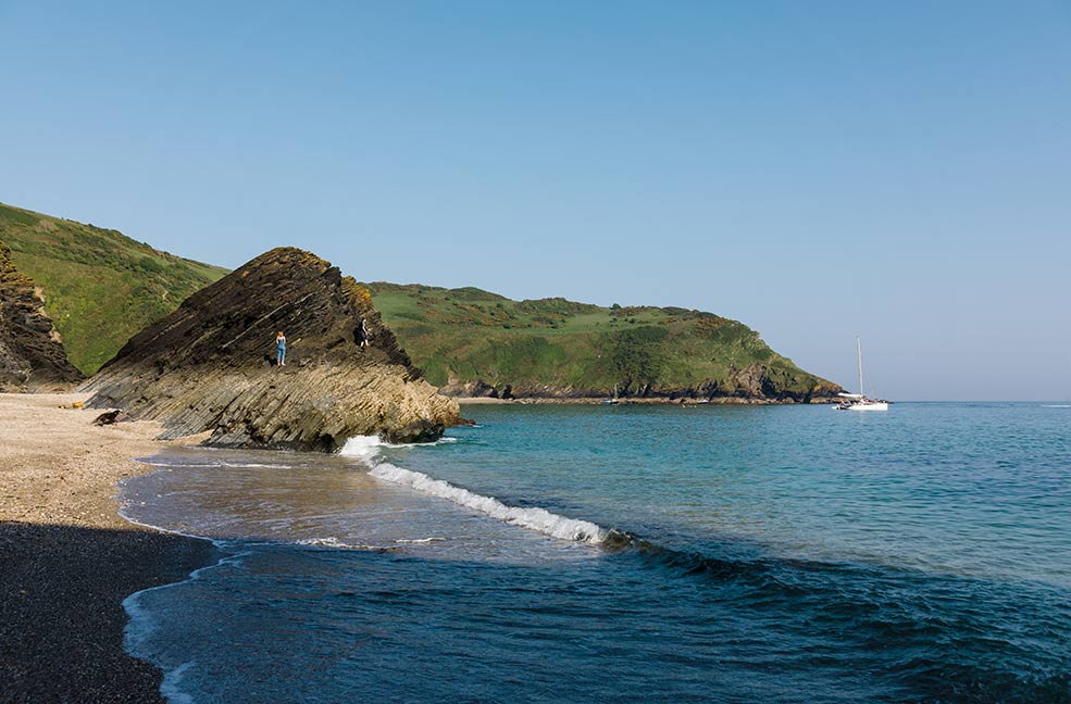 A slice of tropical paradise, Lantic Bay is a trek well worth taking for the amazing views.