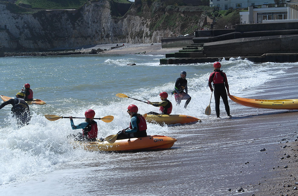 Freshwater Bay is a fabulous place to kayak