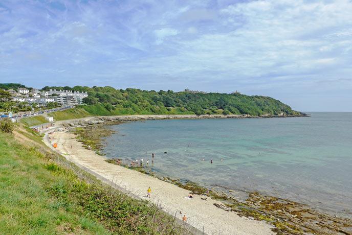 Castle Beach, Falmouth