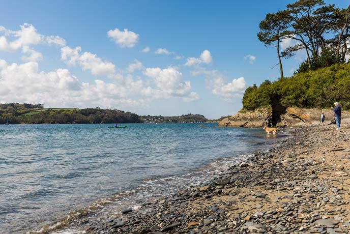 Helford Passage Beach