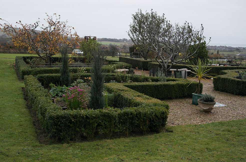 Brading Roman villa gardens