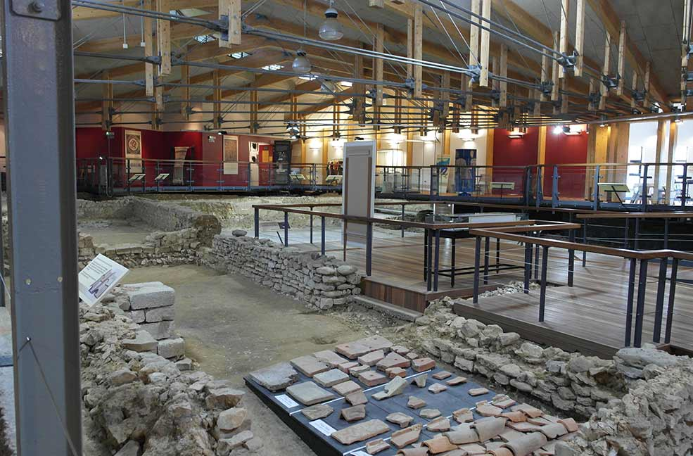A day out to Brading Roman Villa