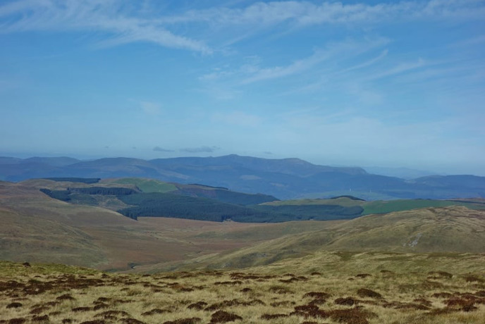 Cambrian Mountains, perfect for stargazing