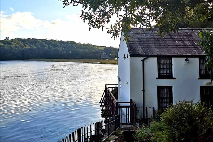 Dylan Thomas Boathouse, Carmarthenshire