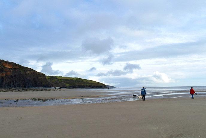 Amroth beach, Pembrokeshire