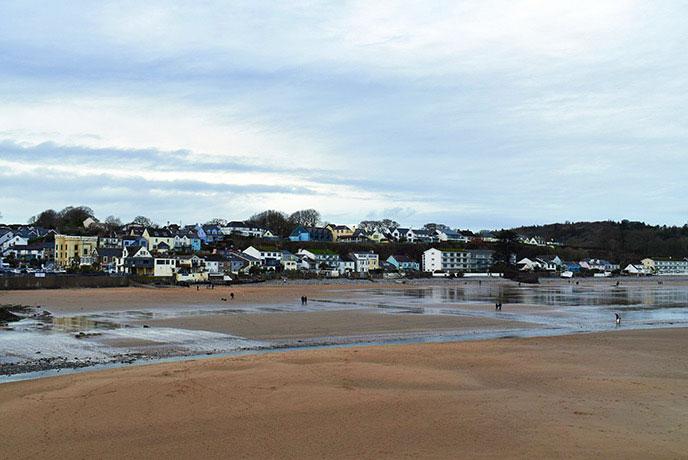 Sandersfoot beach, Pembrokeshire