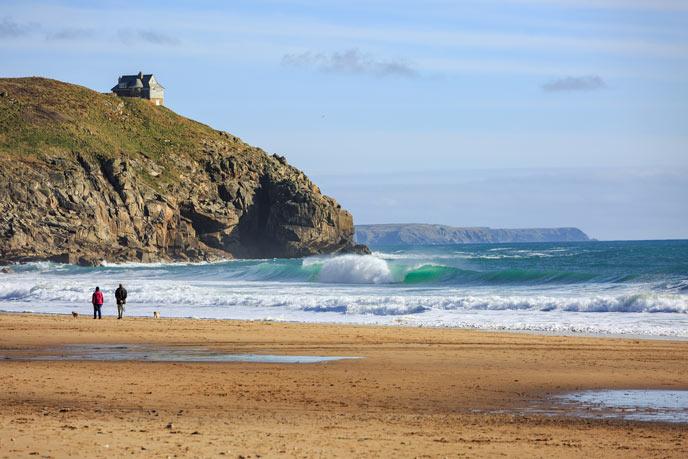Praa Sands, Cornwall
