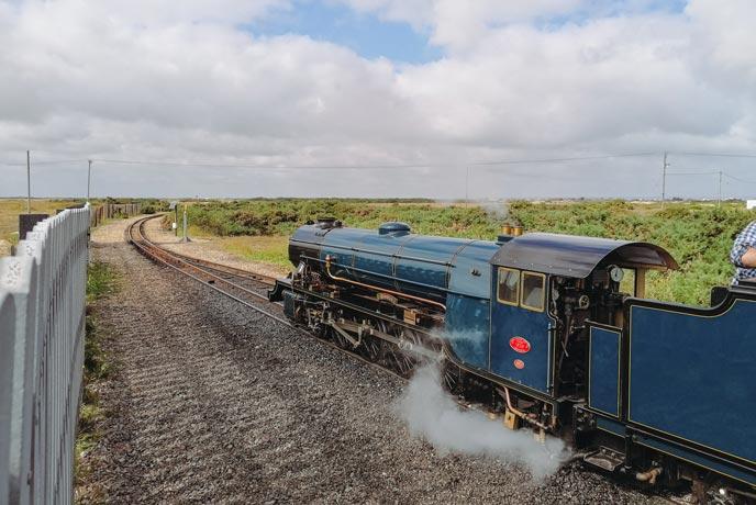 Dungness mini railway