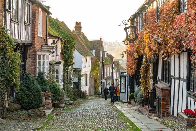 Streets in Rye
