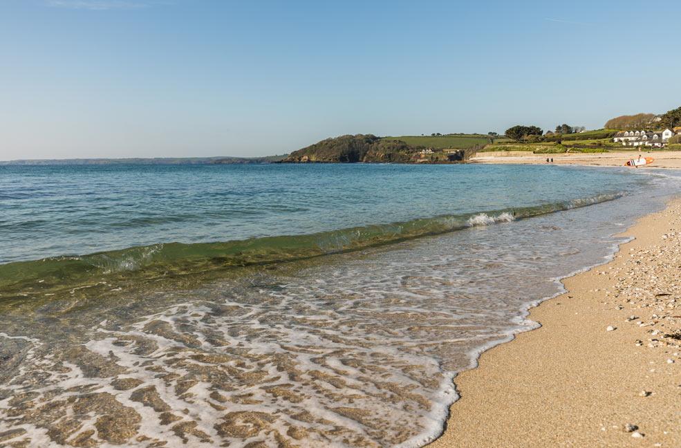 Swanpool beach