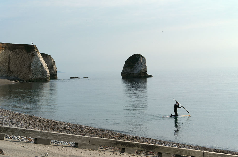 Freshwater Beach is fairly sheltered all year around making it perfect for watersports like paddleboarding and kayaking.