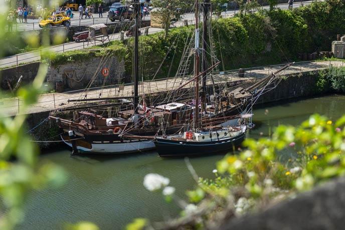 Tall Ships, Charlestown, south Cornwall
