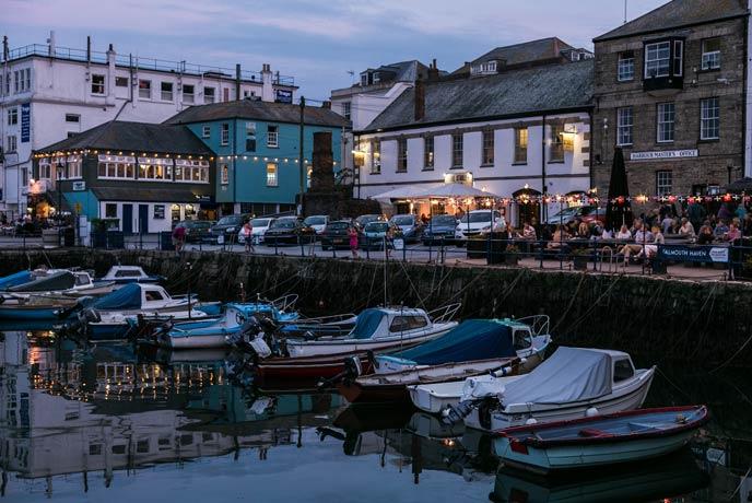 Falmouth, south Cornwall