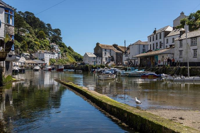 Polperro, south Cornwall