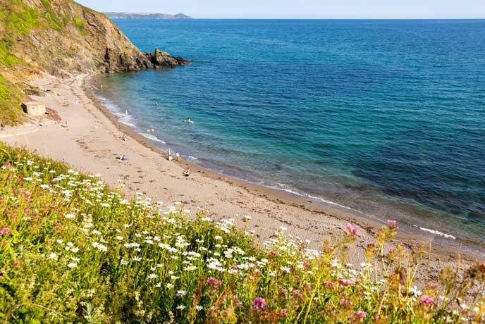 Portwrinkle Beach, south Cornwall