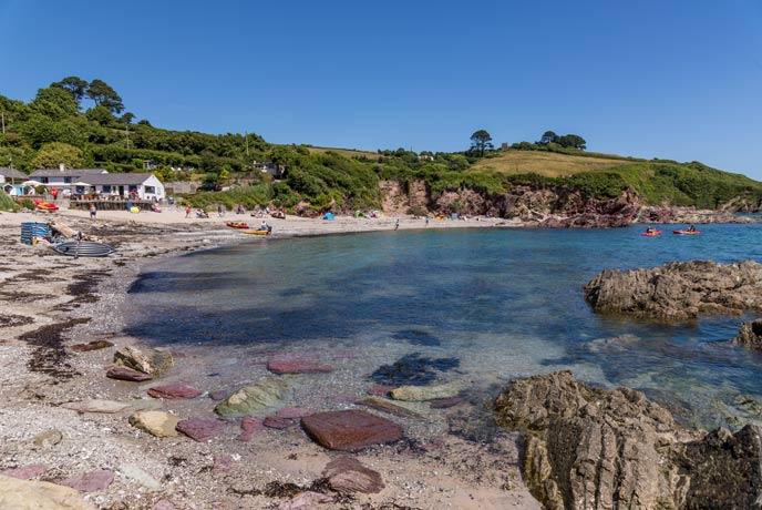 Talland Bay, south Cornwall