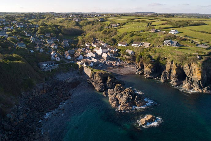 Cadgwith Cove, west Cornwall