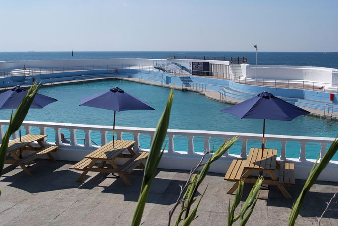 Jubilee Pool, Penzance, west Cornwall