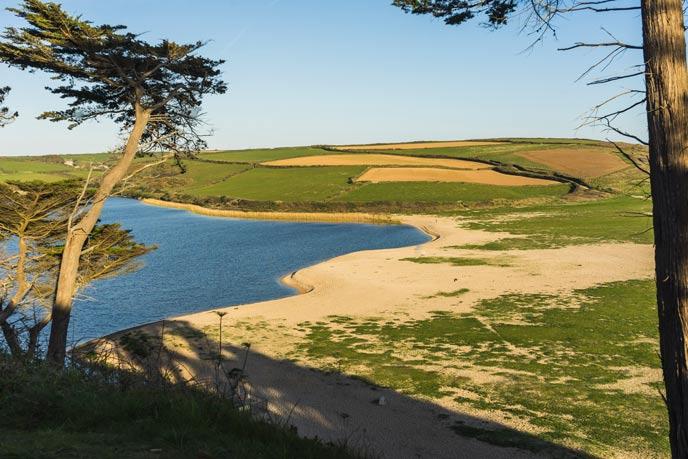 Loe Pool, Penrose, west Cornwall