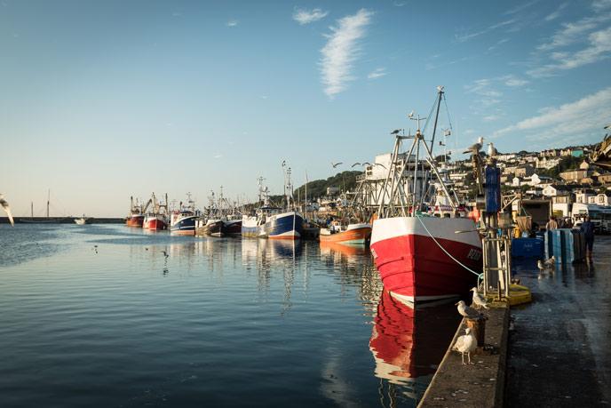 Newlyn, west Cornwall