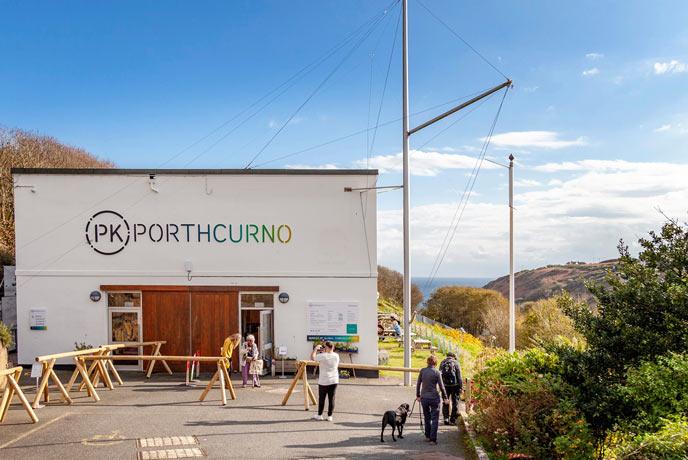 Porthcurno Telegraph Museum, Porthcurno, west Cornwall
