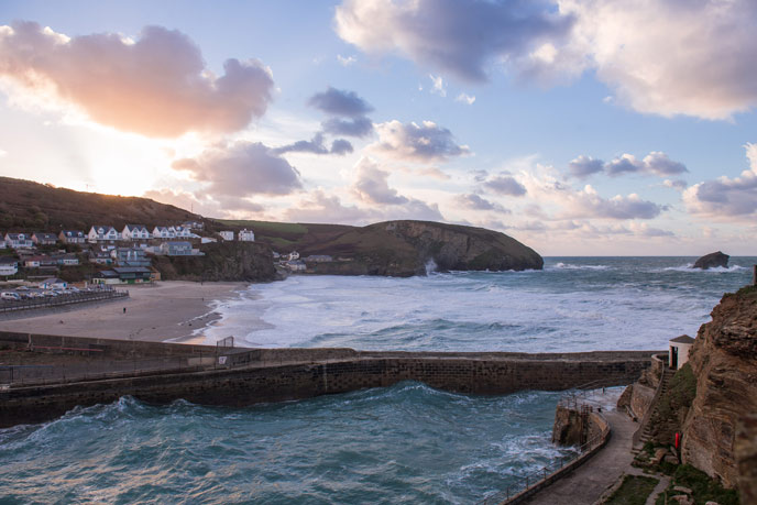 Portreath, west Cornwall