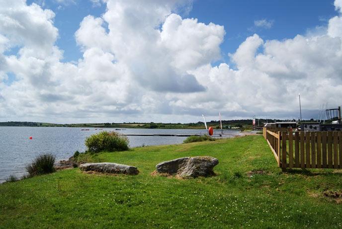 Stithians Reservoir, west Cornwall