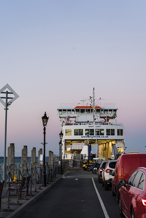Isle of Wight ferry travel
