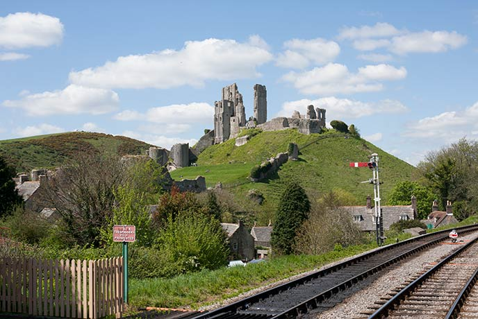 Corfe Castle is an iconic Dorset day out.