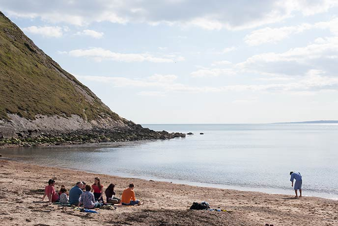 Getting out on the water is easy when you've got so many Dorset beaches on your doorstep.