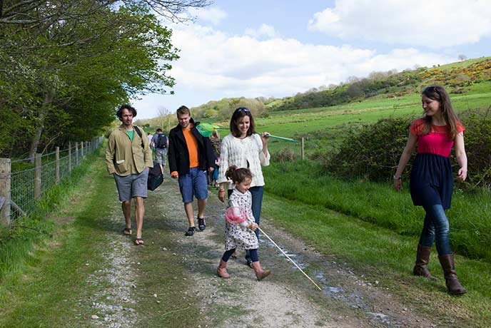 Bring everyone along for a family wander through the hills or along the coast of the Isle of Purbeck.