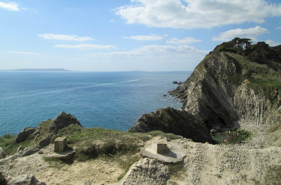 The crown of The Jurassic Coast