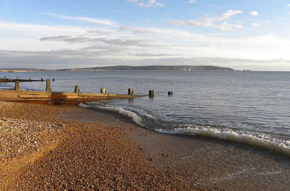 Milford on Sea beach