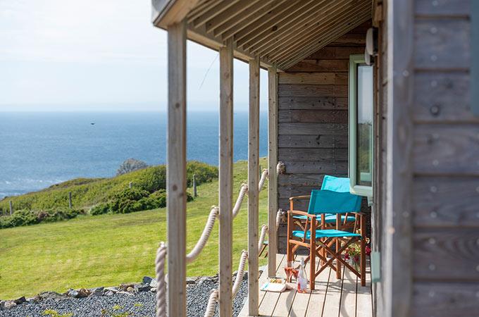 Gull Rock Cabin, Mullion, Cornwall