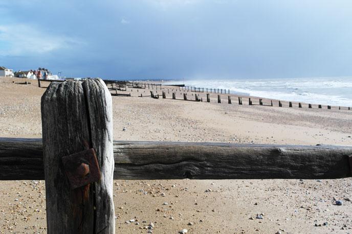 Pevensey Bay Beach, Sussex
