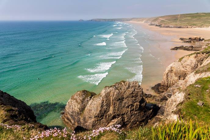 Perranporth Beach, Perranporth, Cornwall