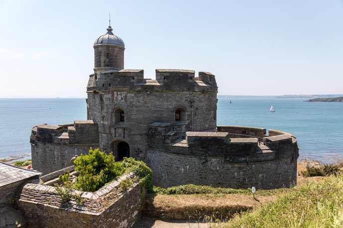 St Mawes Castle, St Mawes, Cornwall
