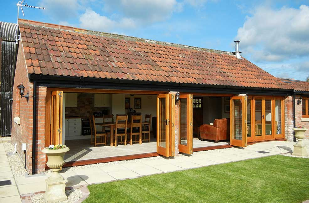 The Old Barn at Cherry May Farm is a beautiful property in Somerset.