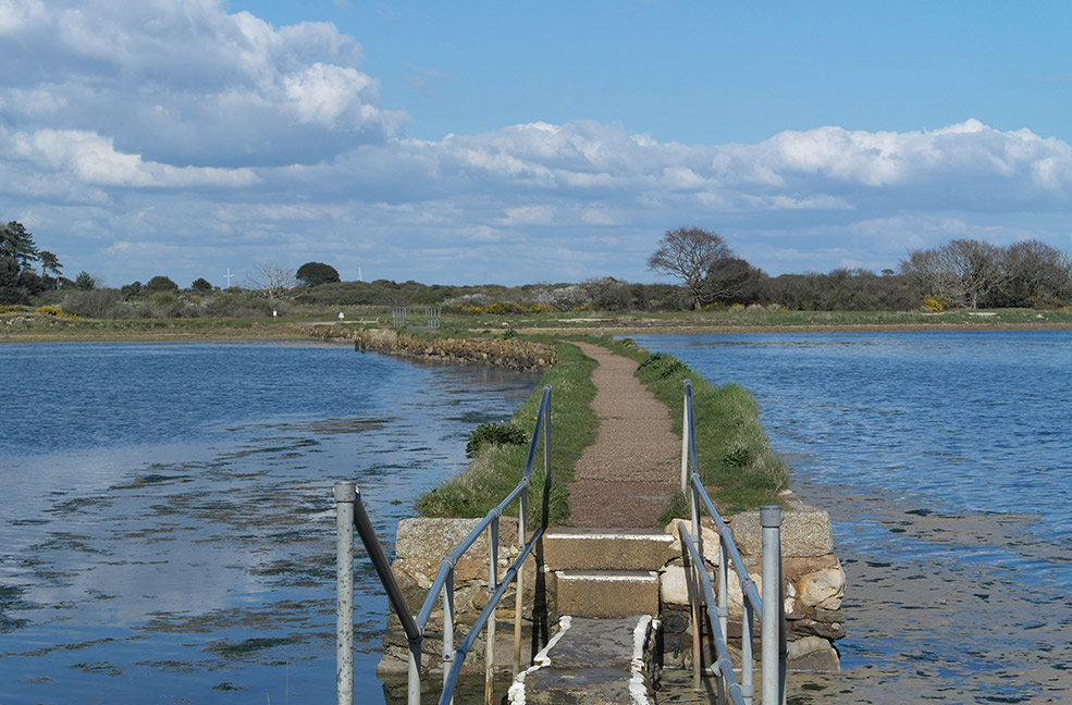 Walk between the lagoons to St Helens Duver