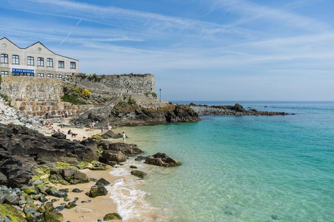 Bamaluz Beach, St Ives, Cornwall