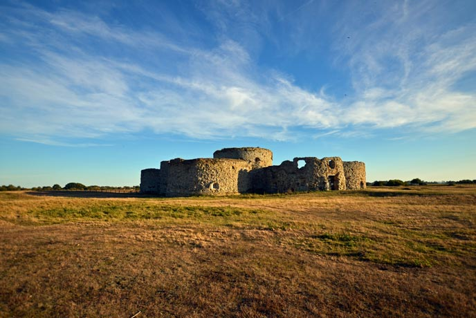 Camber Castle, Sussex