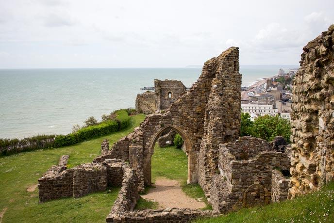 Hastings Castle, Sussex
